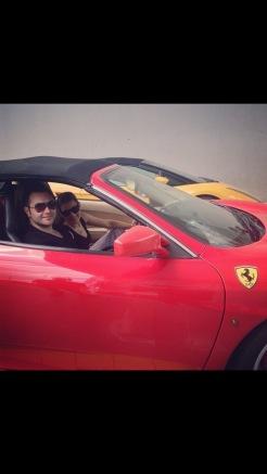 Our Ferrari experience in Singapore
